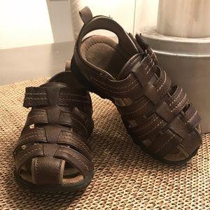 Boy's Brown Sandals